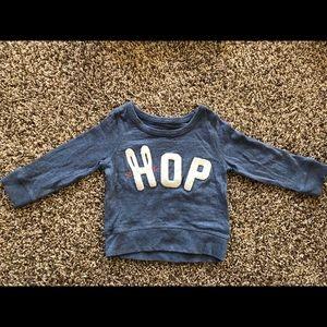 "Baby gap ""HOP"" sweatshirt"